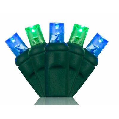 70 5mm LED Christmas Lights Color: Blue/Green