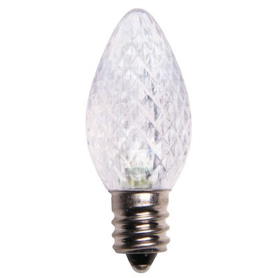 0.96W 130-Volt LED Light Bulb (Pack of 25) Color: Cool White