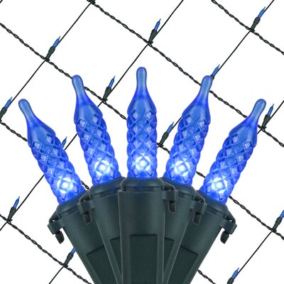 100 LED Christmas Net Light Color: Blue