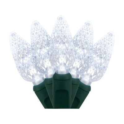 70 Light Christmas LED Lights Bulb Color: Cool White 20292