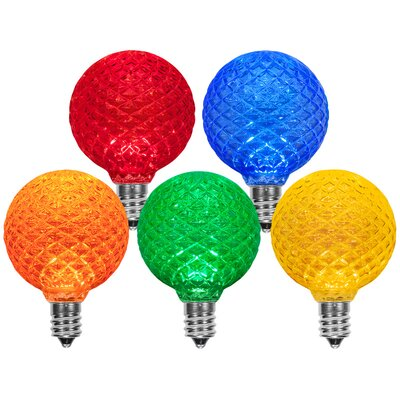 Multicolor 130-Volt Light Bulb (Pack of 25)