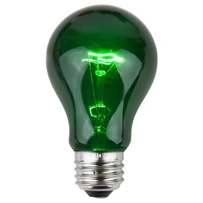 25W Green 130-Volt Light Bulb (Pack of 25)