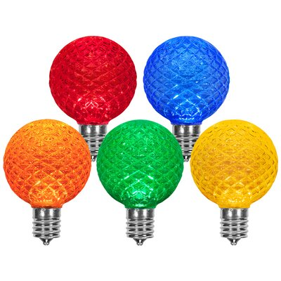 Multicolor  130-Volt Light Bulbs (Pack of 25)
