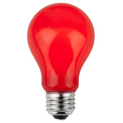 25W Red 130-Volt Light Bulb (Pack of 25)