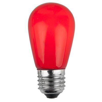 11W Red 130-Volt  Light Bulb (Pack of 20)