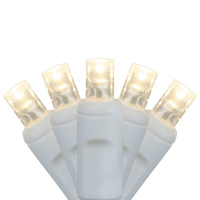 70 Light Christmas LED Light Bulb Color: Warm White
