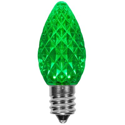 120W Green E12/Candelabra LED Light Bulb