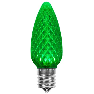 120W Green E17/Intermediate LED Light Bulb