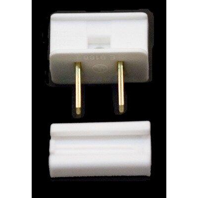 SPT1 Polarized Male Zip Plug Color: White