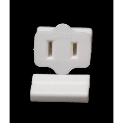 SPT1 Female Zip Plug Color: White