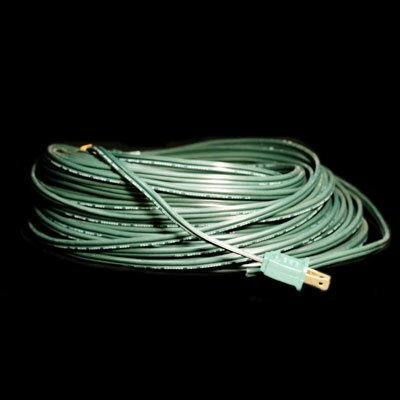 Bulk Wire with Fused Male Plug Color: Green