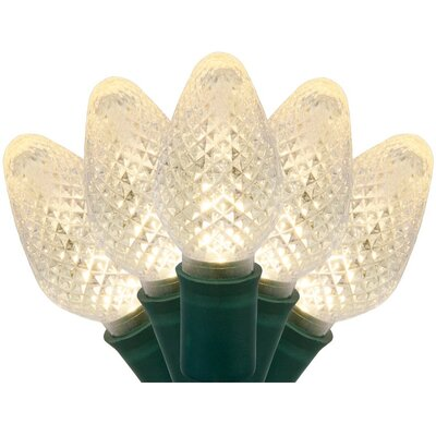 25 C7 LED Christmas Lights Bulb Color: Warm White