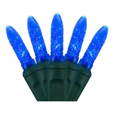70 Light Christmas LED Lights Bulb Color: Blue