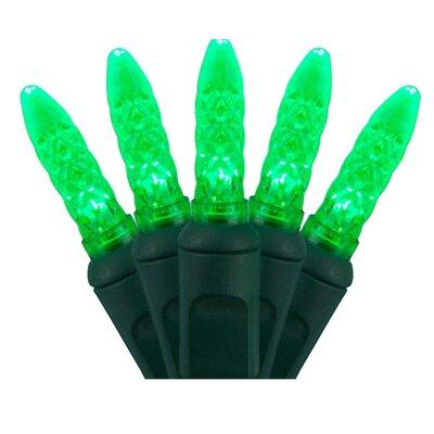 70 Light Christmas LED Lights Bulb Color: Green