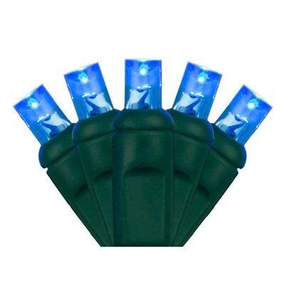 70 Light Christmas LED Light Bulb Color: Blue