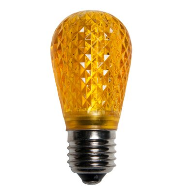 0.96W 130-Volt LED Light Bulb (Pack of 25) (Set of 2) Color: Gold