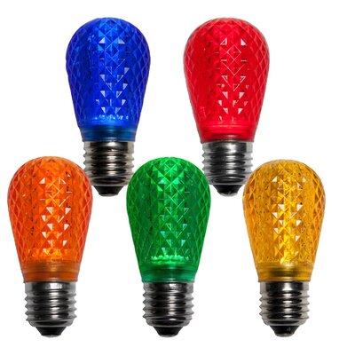 0.96W 130-Volt LED Light Bulb (Pack of 25) (Set of 2) Color: Multicolor