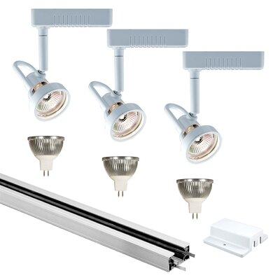 3-Light Low Full Track Lighting Kit