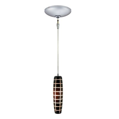 Evisage VI 1-Light Mini Pendant Finish: Satin Nickel