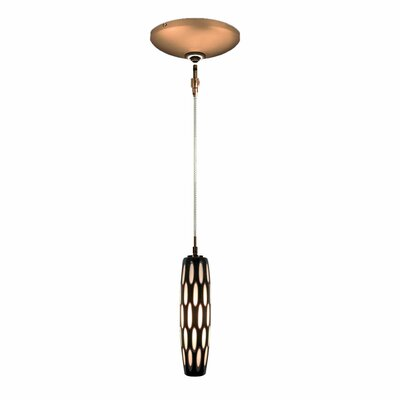 Evisage VI 1-Light Mini Pendant Finish: Bronze