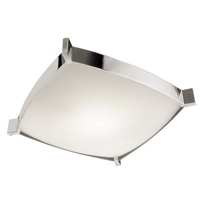 Linea 2-Light Flush Mount