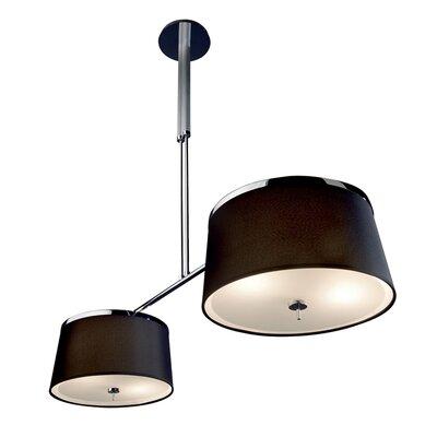Leila 8-Light Drum Pendant