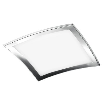 Sui 4-Light Flush Mount Size: 3.88 H x 19.75 W x 19.75 D
