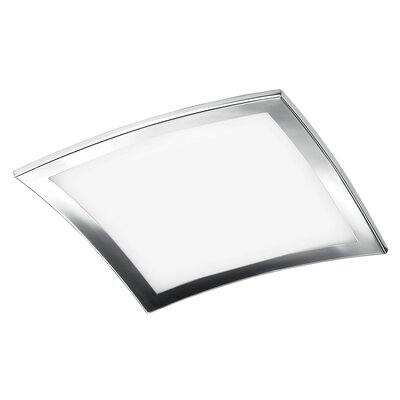 Sui 4-Light Flush Mount Size: 4 H x 16.13 W x 16.13 D