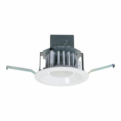 Downlight with Integral Junction Box LED Recessed Lighting Kit Bulb: 2700K