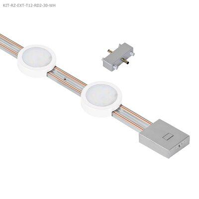 Radianz 12 LED Under Cabinet Strip Light Finish: White