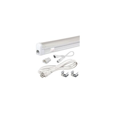 Sleek Plus 34.5 Fluorescent Under Cabinet Bar Light Kit Bulb Color Temperature: 4100K