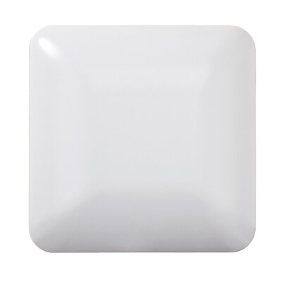 11 Inches Square Driverless AC LED Flush Mount Ceiling Fixture or ADA Sconce with Acrylic Shade 90CRI White in 4000K