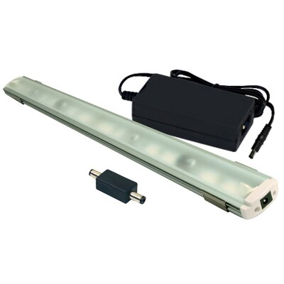 Indoor LED Under Cabinet Bar Light Kit Size: 0.75 H x 1.75 W x 24 D