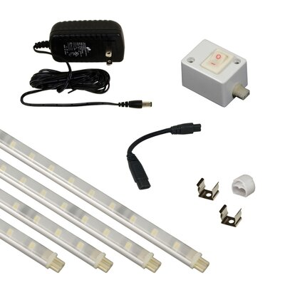8.25 Sleek Plus LED Under Cabinet Strip Light Kit