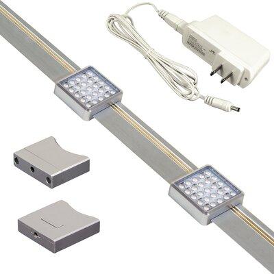 Orionis 2-Light LED Track Lighting Kit Size: 24