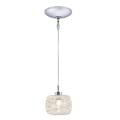 Ally 1-Light Drum Pendant Finish: Chrome