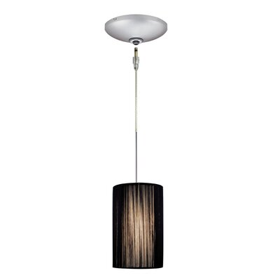 Zen 1-Light Mini Pendant Finish: Satin Chrome