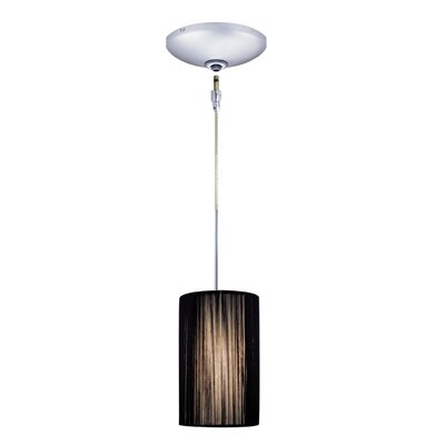 Zen 1-Light Mini Pendant Finish: Chrome