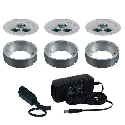 Silm Disk LED Under Cabinet Recessed Light Kit