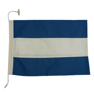 Letter J Cloth Nautical Alphabet Flag Wall Décor
