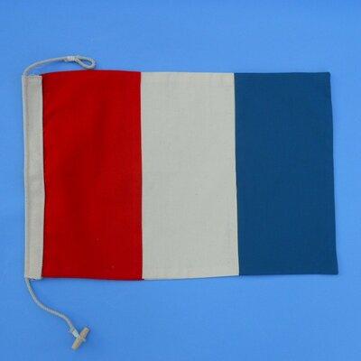 Letter T Cloth Nautical Alphabet Flag Wall Décor