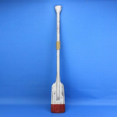 Rustic Kinsington Squared with Hooks Oar Wall Décor