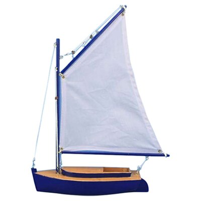 Barnegat Bay Cat Sail Model Boat