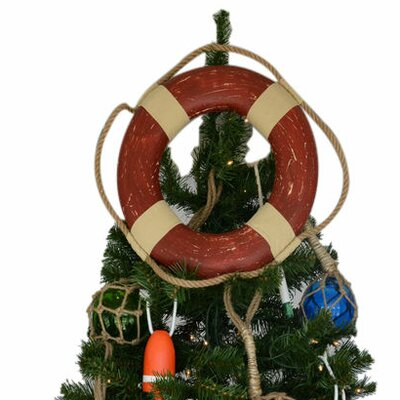 Lifering Christmas Tree Topper Decoration Color: Vintage Red