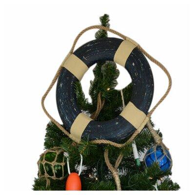 Lifering Christmas Tree Topper Decoration Color: Vintage Blue
