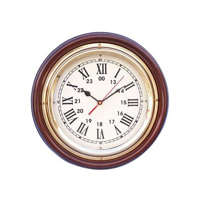 Ship 12 Wall Clock