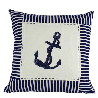 Anwen Nautical Stripes Decorative Throw Pillow