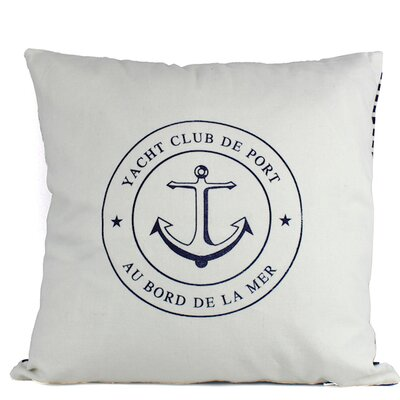 Anwen Yacht Club Anwen Decorative Throw Pillow