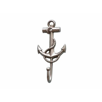 Withams Anchor and Rope Wall Hook Finish: Brushed Nickel
