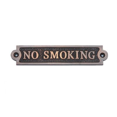 No Smoking Wall D�cor